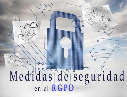 Medidas de seguridad exigibles en el Nuevo RGPD
