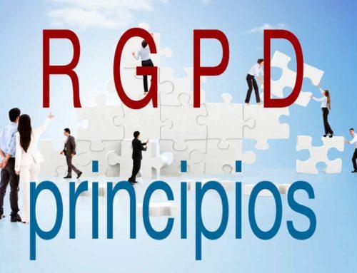 ¿Qué es el principio de información a los afectados, según el RGPD?